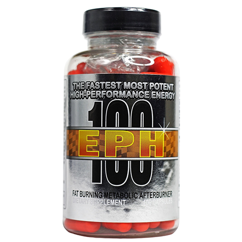 EPH 100 Ephedra and Caffeine Weight Loss Pill 100ct