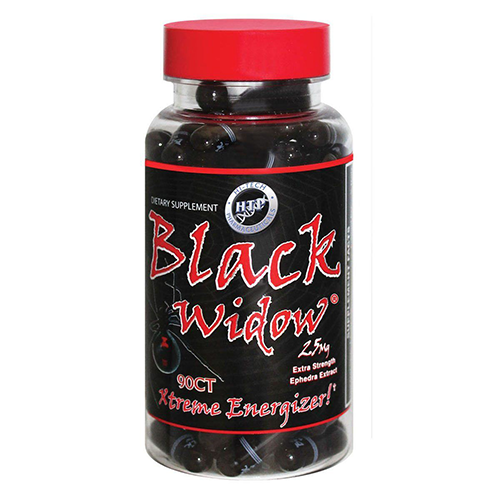 Black Widow 25mg Ephedra Extreme Energy Hi Tech 90ct