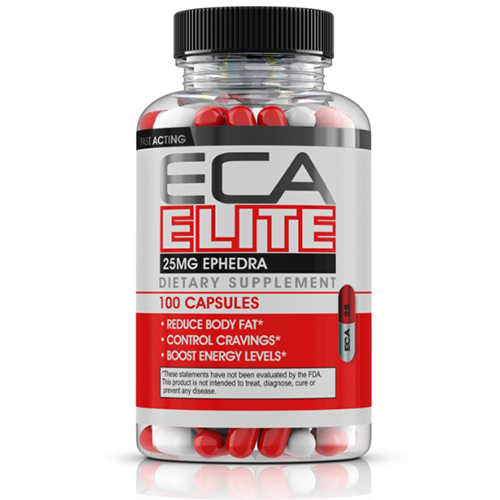 ECA Elite Ephedra Synephrine Yohimbe Weight Loss Pills 100ct
