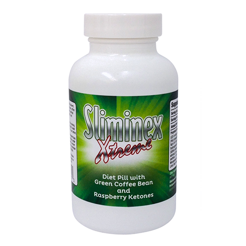 Sliminex Xtreme Diet Pill for Belly Fat Raspberry Ketones 60ct