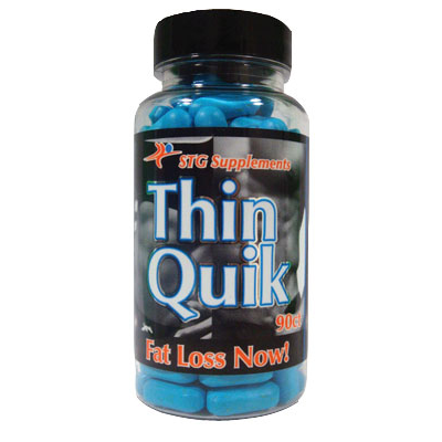Thin Quik Ephedra and Caffeine Energy for Fat Loss 90ct