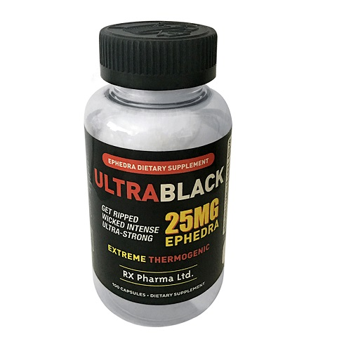 Ultra Black 25mg Ephedra Compare Original Black Widow ECA Stack